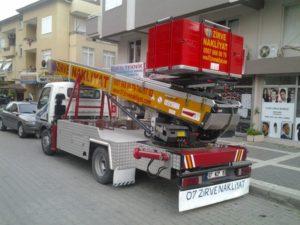 Manavgat zirve nakliyat asansörlü taşımacılık